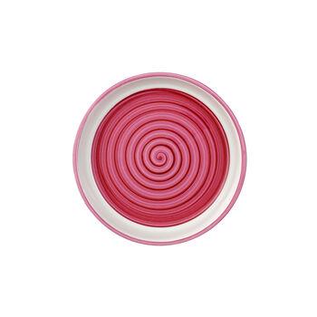 Clever Cooking Pink Servierplatte / Deckel rund