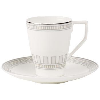 La Classica Contura Kaffeetasse mit Untertasse 2er-Set