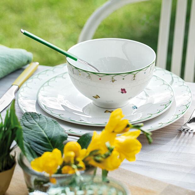 Colourful Spring große Schüssel, weiß/grün, , large