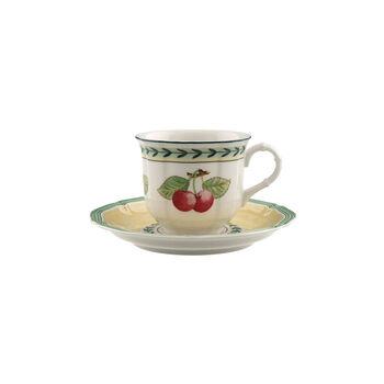 French Garden Fleurence Kaffeetasse mit Untertasse 2-teilig