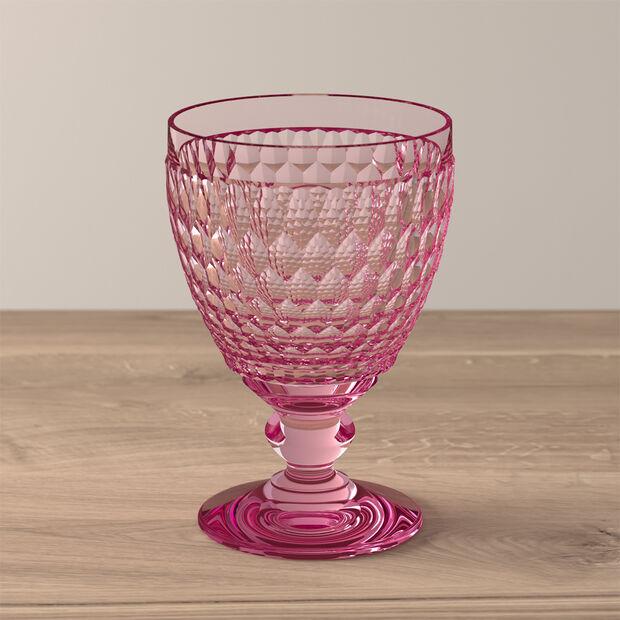 Boston Coloured Wasserglas Rose, , large