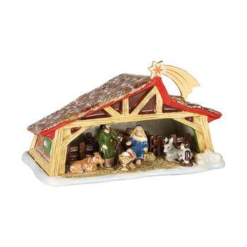 Christmas Toy's Memory Krippe, bunt, 27 x 16 x 16 cm