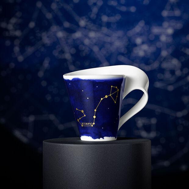 NewWave Stars Becher Skorpion, 300 ml, Blau/Weiß, , large