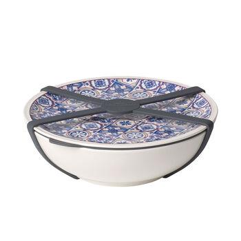 Modern Dining To Go Indigo Schale L