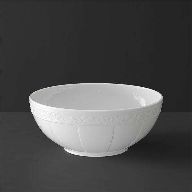 White Pearl Schüssel rund groß, , large