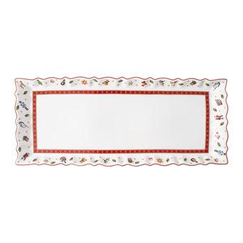 Toy's Delight Königskuchenplatte, bunt/rot/weiß, 39 x 16 cm