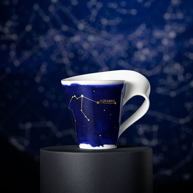 NewWave Stars Becher Wassermann, 300 ml, Blau/Weiß, , large