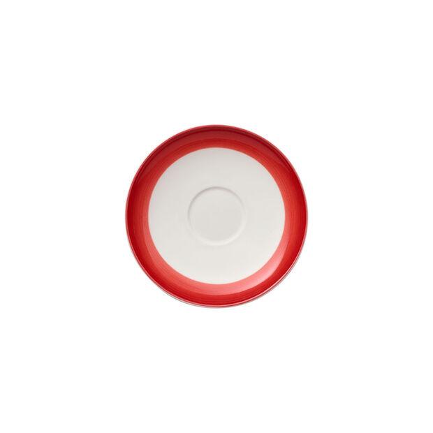 Colourful Life Deep Red Mokka-/Espressountertasse 12cm, , large