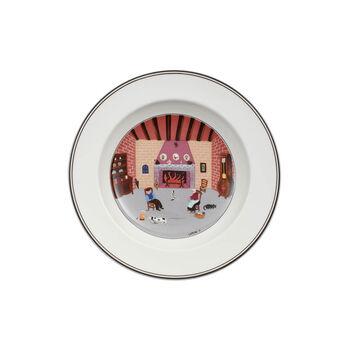 Design Naif Suppenteller Kamin 21cm
