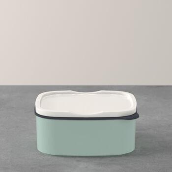 ToGo&ToStay Lunchbox, 13x10x6cm, eckig, mintgrün