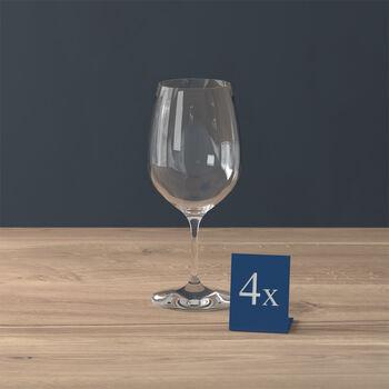 Entrée Rotweinglas, 4 Stück