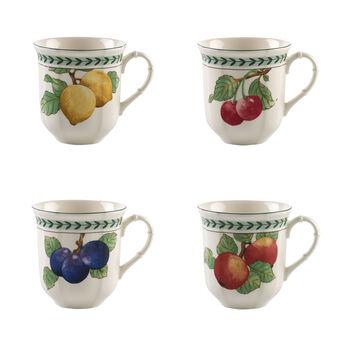 French Garden Modern Fruits Jumbo-Becher Set 4tlg.