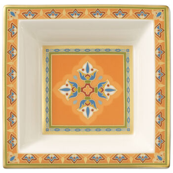 Samarkand Mandarin Schälchen quadratisch 10x10cm