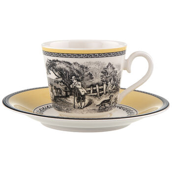 Audun Ferme Kaffee-/Teetasse mit Untertasse 2tlg.