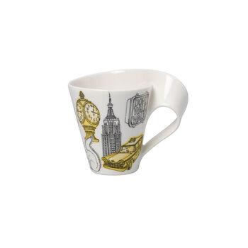 Cities of the World Kaffeebecher mit Henkel New York