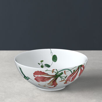 Avarua Bowl, 600ml, weiß/bunt