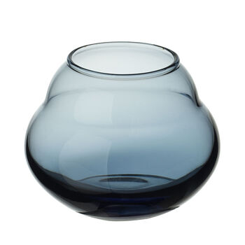 Jolie Bleue Vase/Teelichthalter