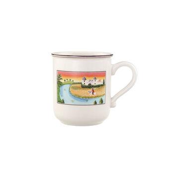 Design Naif Kaffeebecher mit Henkel Schloss