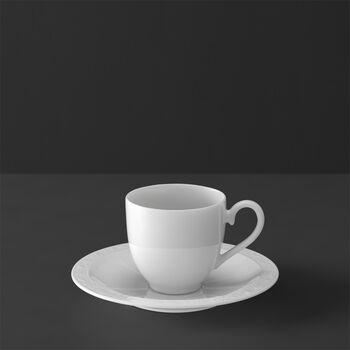 White Pearl Mokka-/Espressotasse 2tlg.