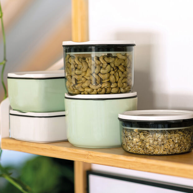 ToGo&ToStay Lunchbox, 20x13x7,5cm, eckig, mintgrün, , large