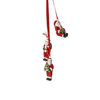 My Christmas Tree Trio-Ornament Santa