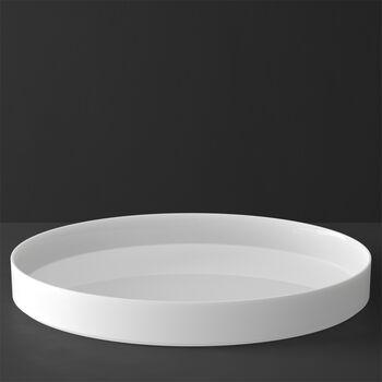 MetroChic blanc Gifts Servier / Dekoschale 33x33x4cm