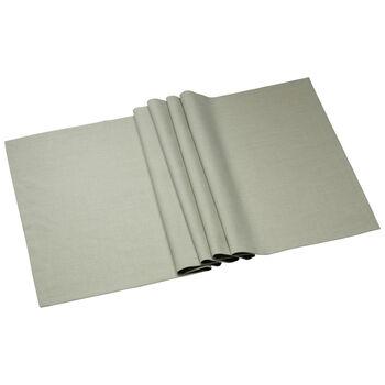 Textil Uni TREND Laeufer fog green 78 50x140cm