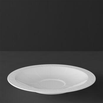 White Pearl Suppen-Untertasse