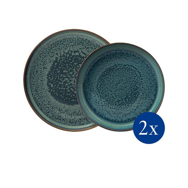 Crafted Breeze Tafel-Set, graublau, 4-teilig, , large