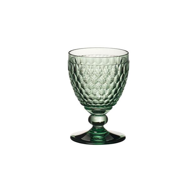 Boston Coloured Rotweinglas Green, , large