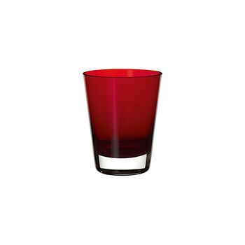 Colour Concept Cocktail-/Wasserglas Red