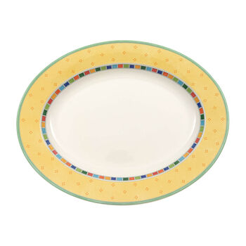 Twist Alea Limone ovale Platte 41 cm