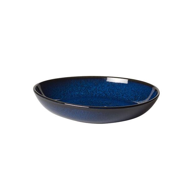Lave Bleu kleine flache Schale, , large