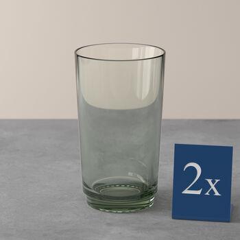 it's my match Longdrink-Glas, mineral, 2 Stück