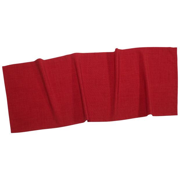 Textil Uni TREND Tischläufer rot 50x140cm, , large