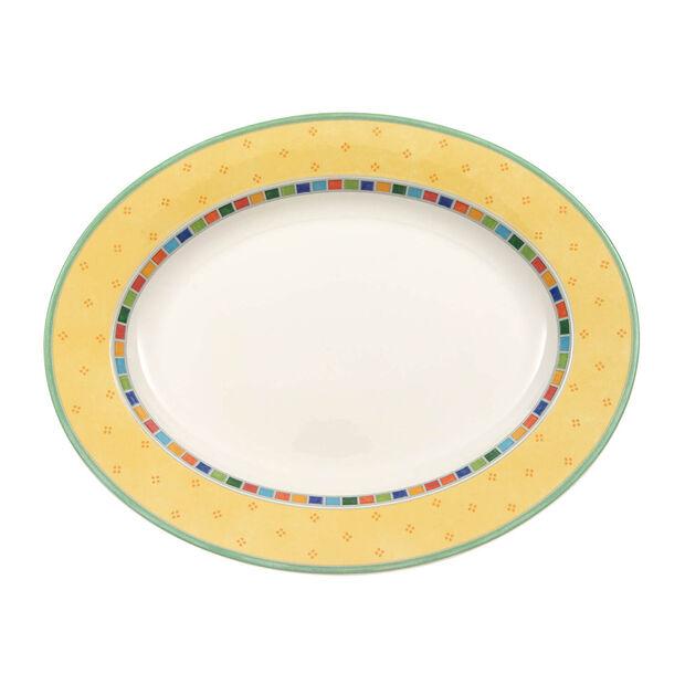 Twist Alea Limone ovale Platte 34 cm, , large