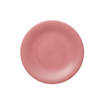 Color Loop Rose Frühstücksteller 21x21x2cm