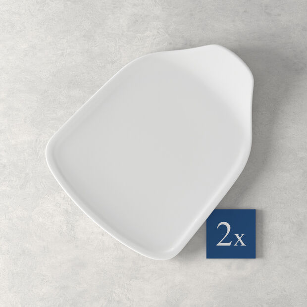 Pizza Passion Pizzastück-Teller Set 2 Stück 24,5x19,5cm, , large