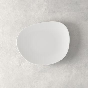Organic White Frühstücksteller, weiß, 21 cm