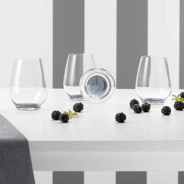 Colourful Life Cosy Grey Cocktail-/Wasserglas-Set 4-teilig, , large