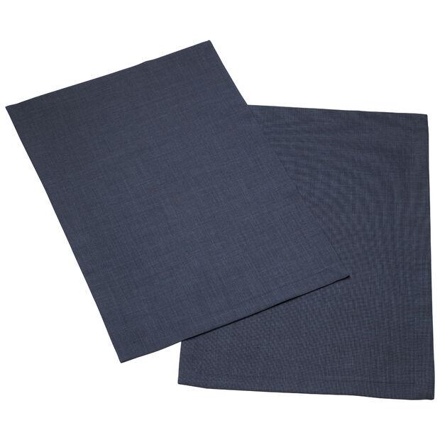 Textil Uni TREND Platzset vintage blue Set 2 35x50cm, , large