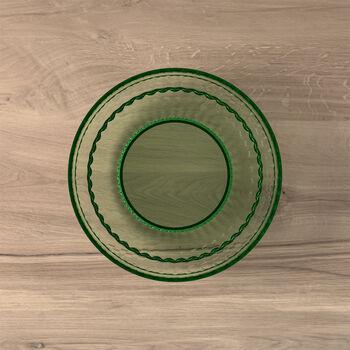 Boston Coloured Salat- und Dessertteller, grün, 21 cm