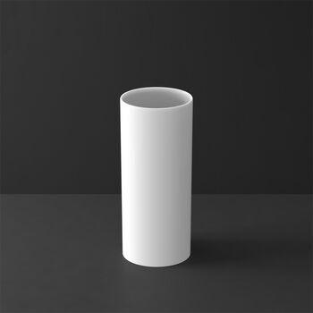 MetroChic blanc Gifts Vase hoch 13x13x30,5cm