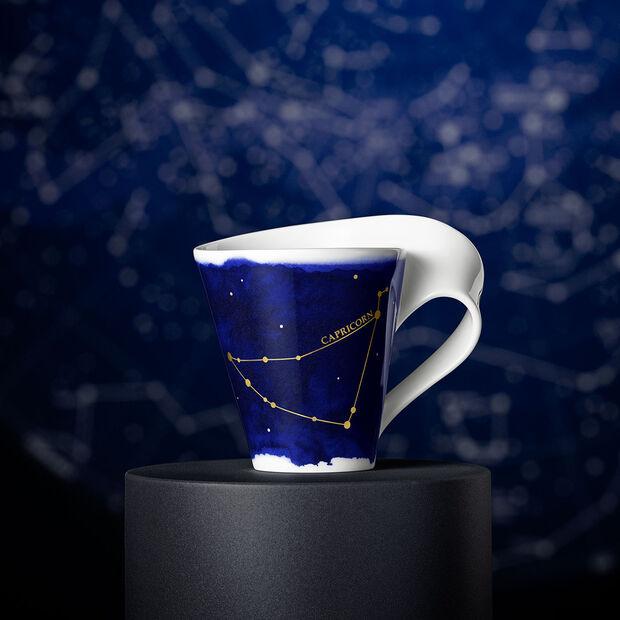 NewWave Stars Becher Steinbock, 300 ml, Blau/Weiß, , large