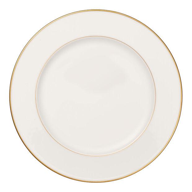 Anmut Gold runde Platte, Durchmesser 32 cm, Weiß/Gold, , large
