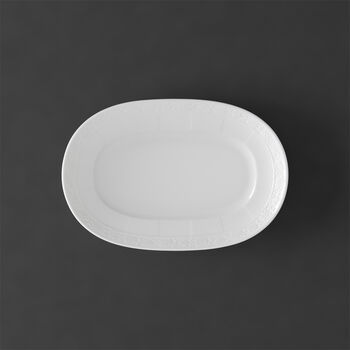 White Pearl Beilagenschale/Saucière-Unterteil 22cm