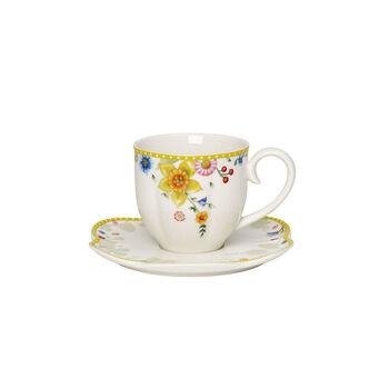 Spring Awakening Kaffeetasse mit Untertasse, 260 ml