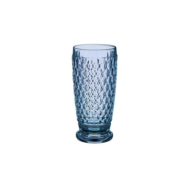 Boston Coloured Longdrink-Glas Blue, , large