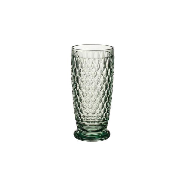 Boston Coloured Longdrink-Glas Green, , large