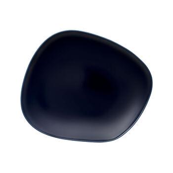 Organic Dark Blue Speiseteller 28 x 24 x 3cm